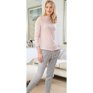 100% Cashmere Pink Gassato Sweater Pure Collection